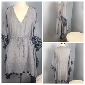 Anthropologie MERMAID beach coverup xs/s